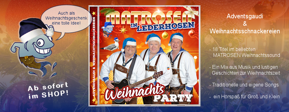 Matrosen in Lederhosen - Album CD Alpenkracher